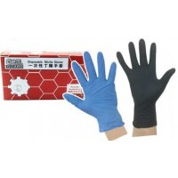 GEM 化工手套 L  黑色 (高度防溶劑)(50只/盒)