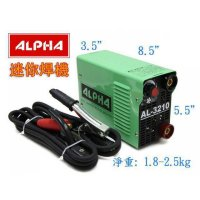 ALPHA 逆變直流焊機 10# (需自行安裝16A工業插碩) AL-3210