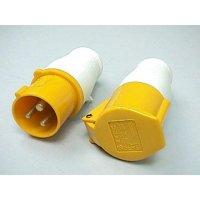防水蘇 乸 黃色 3P 16A 110V 213-4