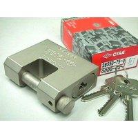 CISA 白鋼鎖 75x13.5mm 28550-75-0
