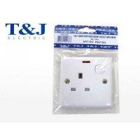 T&J 13A 三線孤面插座有制有燈  P8613SL