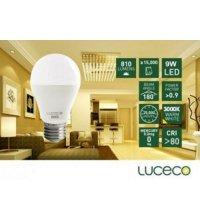 LUCECO - LED 電燈泡9W- 暖白光 (型號 : LA27W9W810-LE)