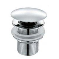 DELONG 帝朗 接壓式落水(大蓋) Pop-up (L) 按壓式銅落水 (大蓋) (PU07)