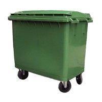 LICO 660L 四輪垃圾桶 四輪垃圾車 660公升 (綠色)