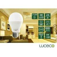 LUCECO - LED 電燈泡5W-暖白光 (型號 : LA27W5W47-LE)