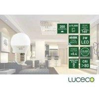 LUCECO - LED 電燈泡3W-冷白光 (型號 : LB27C3W20-LE)
