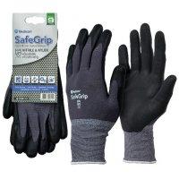 Medicom 丁腈塗層防滑手套 (搬運手套) Large 大碼 Medicom SafeGrip Foam Nitrile Coated Gloves