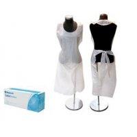 Medicom 膠圍裙 Medicom SafeBasics  PE Apron -White / Blue