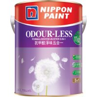 Nippon 立邦抗甲醛淨味五合一(竹炭配方)內牆乳膠漆 (1公升)