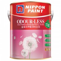 Nippon 立邦金裝抗甲醛淨味全效(竹炭配方)內牆乳膠漆1升