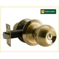 FOX'S 浴室鎖 F-A830SZ-SB 彩虹雙色波形鎖, 珠鎖