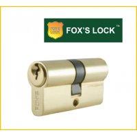 FOX'S 鎖膽(雙膽) F-D-63MM-PB 歐式葫蘆型鎖膽