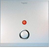 施耐德電氣 ULTI,UC21DP/P XPW ULTI 單位雙極開關連指示燈面板 - 珍珠白